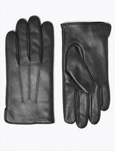 Leather Gloves with Thermowarmth™ in Black