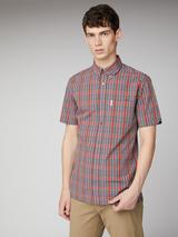 Red Archive Carnaby Shirt in Red