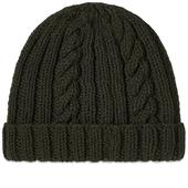 Inverallan Aran Hat in Grey
