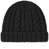 Inverallan Aran Hat in Black