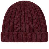 Inverallan Aran Hat in Red