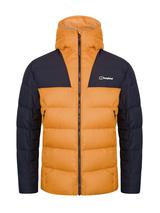 Men's Ronnas Reflect Down Insulated Jacket in Orange and Navy