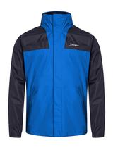 Men's Kinglas Waterproof Jacket in Black and Blue