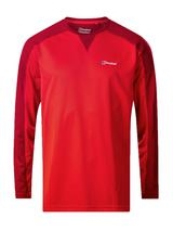 Men's Long Sleeve Crew 2.0 T-Shirt in Red