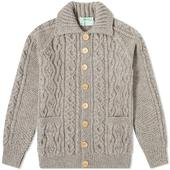 Inverallan 3A Lumber Cardigan in Grey