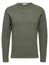 Victor Organic Cotton Jumper in Green