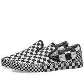 Vans Classic Slip-On in Black and White