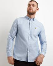 Regular Fit Oxford Shirt in Blue