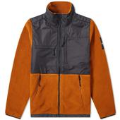 The North Face Denali Fleece in Brown and Black
