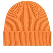 Colorful Standard Remade Wool Beanie in Orange