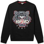 Kenzo Classic Tiger Crew Sweat in Black