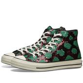 Converse Chuck 70 Hi in Red and Green