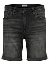 11oz Stretch Organic Cotton Denim Shorts in Grey