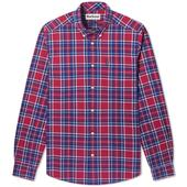 Barbour Highland Check Shirt in Red and Blue
