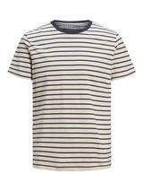 Striped T-Shirt in Neutral