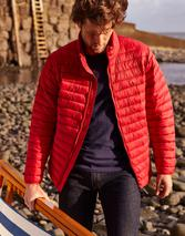 Go To Padded Jacket in Red