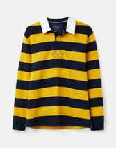 Onside Rugby Shirt in Yellow and Navy