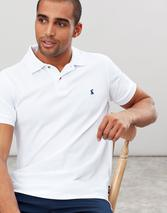 Woody Slim Fit Polo Shirt in White