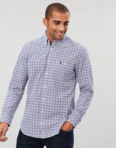 Hewney Long Sleeve Classic Fit Shirt in Blue