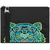 Kenzo Tiger Large Pouch in Black