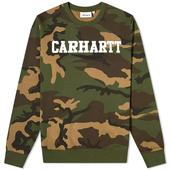 Carhartt WIP College Sweat in Green