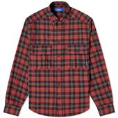 PACCBET Flannel Shirt in Red