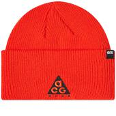 Nike ACG Small Logo Beanie in Red