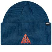 Nike ACG Small Logo Beanie in Navy