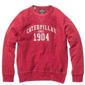 CAT Lifestyle Red 1904 Sweatshirt in Red