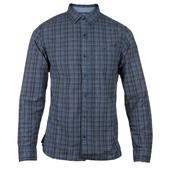 CAT Lifestyle Plaid Radford Long Sleeve Shirt in Blue