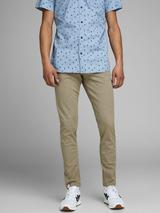 Marco Organic Cotton Slim Fit Chinos in Neutral