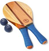 Trancoso Wooden Beach Bat and Ball Set in Blue