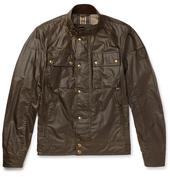 Racemaster Waxed-Cotton Jacket in Brown