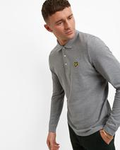 LS Polo Shirt in Grey