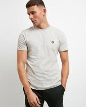 Plain T-shirt in Grey