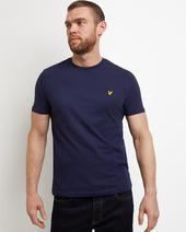 Plain T-shirt in Navy