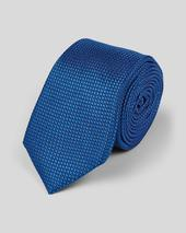 Slim Silk Pindot Tie - Royal Blue in Blue