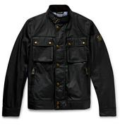 Racemaster Waxed-Cotton Jacket in Black