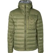 Ventus Quilted Pertex Quantum Nylon-Ripstop Hooded Down Jacket in Green