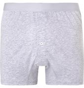 Pima Cotton-Jersey Boxer Briefs in Grey