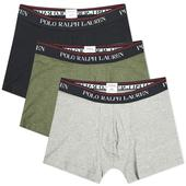Polo Ralph Lauren Boxer Short - 3 Pack in Green, Black and Grey