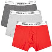 Polo Ralph Lauren Boxer Short - 3 Pack in Black, White and Grey