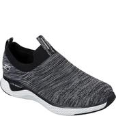 Skechers Black/White Solar Fuse in Grey