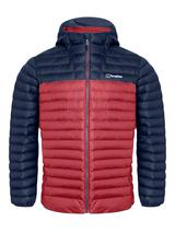 Men's Vaskye Insulated Jacket in Red and Navy