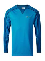 Men's Long Sleeve Crew 2.0 T-Shirt in Blue