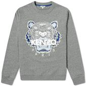 Kenzo Classic Tiger Crew Sweat in Grey