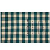Acne Studios Cassiar Check Scarf in Green and Neutral
