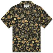 Carhartt WIP Paradise Vacation Shirt in Yellow and Black
