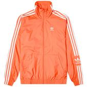 Adidas Lock Up Track Top in Red