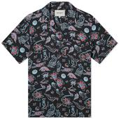 Carhartt WIP Paradise Vacation Shirt in Black